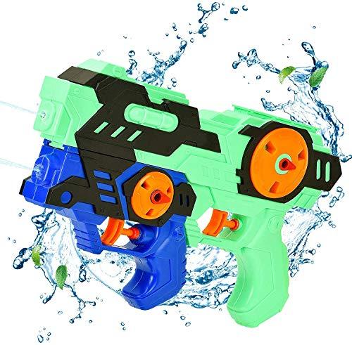Pistola de Agua,Juguetes para Niños Pistola de Chorro de Agua, 550ML Juguetes de Piscina Super Soaker Gun para Al Aire Libre, Jardín, Fiestas Juguetes de Verano para Piscina