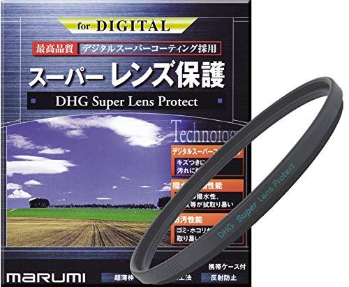 MARUMI レンズフィルター 82mm DHG スーパーレンズプロテクト 82mm レンズ保護用 撥水防汚 薄枠 日本製