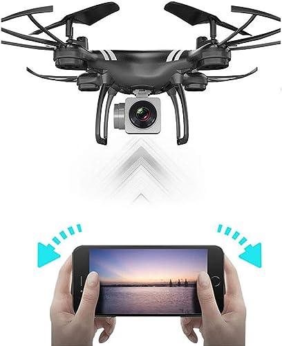 Rwdacfs Drone Mini Photographie aérienne, quadricoptère, vidéo en Direct avec caméra, Fonction Grand Angle Folgen Sie Mir, Blanc