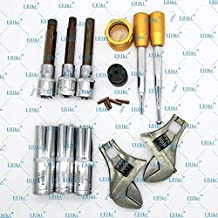 ERIKC Diesel Common Rail Tool Fuel Injector Assembly Disassembly Dismounting 11 pcs Repair Kits for Dleph1 D-ENSO B-OSCH Pize0