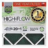 Castillo filtros de aire 14x 20x 1filtro de un año HVAC...