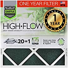 """No Toil Castle, One-Year HVAC Furnace Filter, 20"""" x 36"""" x 1"""""""