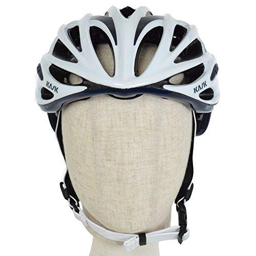 Kask - Mojito 16 - Casco para bicicleta, Adultos , Blanco/Azul (White/Blu...