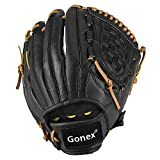 Gonex Baseball Softball Glove for Youth Boys Girls, Baseball Mitt 11.5 Inch Infield Right Hand Throw Glove with Carrying Bag