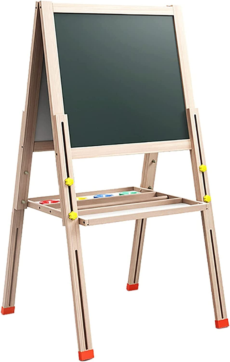 LICHUAN Double-Sided Choice Kids Easel Magnetic Adjustable Folda Safety and trust Height