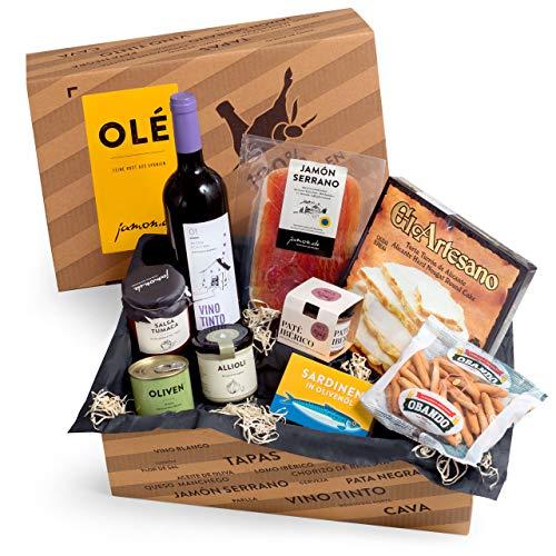 Jamon-de - Feine Kost aus Spanien -  Geschenkkorb Olé