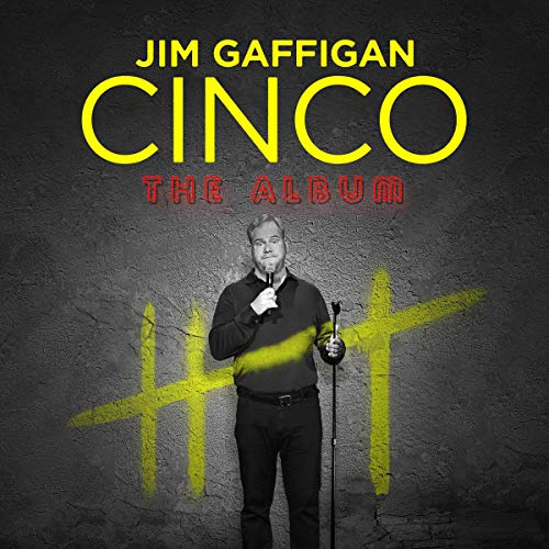 Jim Gaffigan audiobook cover art