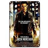 sfasf Jack Reacher (2012) Letreros de estaño para decoración de...
