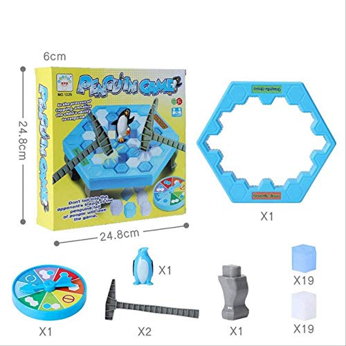 N/X Juguetes al Aire Libre Puzzle Brain Game Break Ice Block HammerJuguetes interactivos para Dos Personas Cute Family Toy