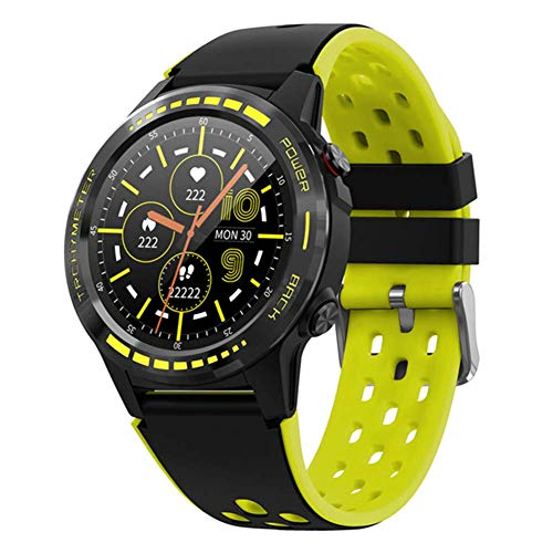 WEINANA 2020 GPS M7 Smart Uhrmann Bluetooth Anruf 360Mah Kompass Barometer Geomagnetischen Induktions Gyroskop Sport Im Freien Smartwatch,B