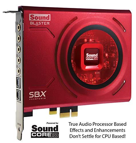Creative Labs Sound Blaster Z PCIe Interno 5.1canales PCI-E - Tarjeta de Sonido (5.1 Canales, 24 bit, 116 dB, PCI-E)