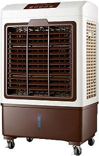Ventilador de aire acondicionado Refrigeración del refrigerador 150w del humidificador del Enfriador de Aire hogar con Control Remoto, Tanque de Agua Grande 20L, sincronización 7H