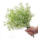 5 PCS Flores De Plástico Flores Artificiales Realistas Arbustos Falsos para El Centro De La Boda Pot Jardín Dormitorio Dormitorio Decoración De La Tumba