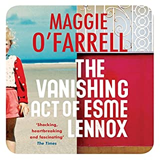 The Vanishing Act of Esme Lennox cover art