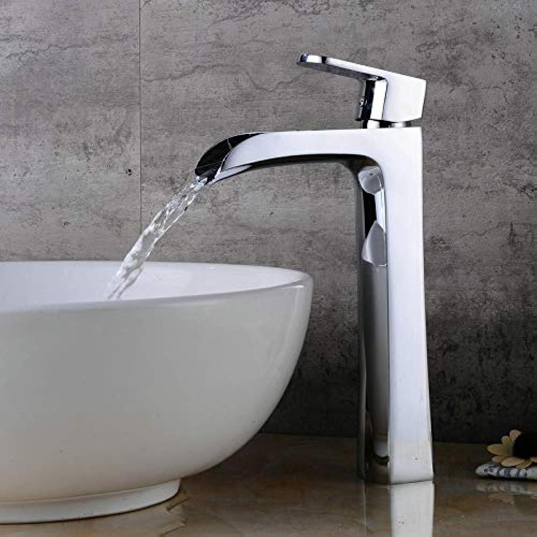 Wasserhhne Waschtischarmaturen Galvanik Hoher Tisch Waschbecken Wasserhahn Bad Kupfer Hei Und Kalt Mischwasser Waschbecken Hoher Wasserhahn