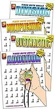 Remedia Publications REM505 Timed Math Drills Book Set Grade 0.4