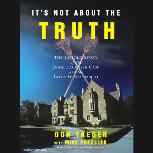 It's Not About the Truth audiobook cover art