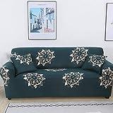 MKQB Funda de sofá elástica elástica para Sala de Estar Moderna, Funda de sofá Envuelta herméticamente Antideslizante, Funda de sofá de Esquina en Forma de L NO.17 4seat-XL- (235-300cm)