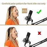 Zoom IMG-1 uhuru microfono a condensatore professionale