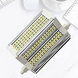Bulbs Luces de inundación Regulables R7S LED 118MM - 50W 118mm Lámpara halógena de tungsteno Equivalente a luz Diurna de Doble Extremo 500W