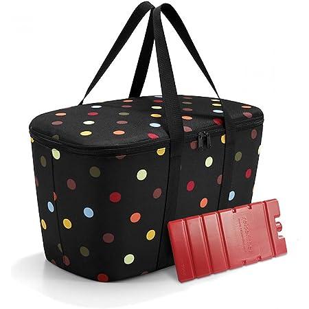reisenthel coolerbag mit Kühlakku - isolierte Kühltasche, faltbar, robust, mit Reißverschluss