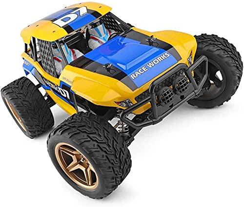 Eléctrico de alta velocidad Control remoto Coches Simulación Ratio 1:12 Cuatro ruedas Drive Escalada Bigfoot Off-road Racing Modelo
