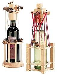 Playtastic Weinflaschenpuzzle: Flaschen-Puzzle 2er-Set: Siena und Verona (Flaschen Rätsel)