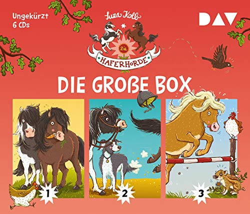 Die Haferhorde – Die große Box (Teil 1-3): Ungekürzte Lesungen mit Bürger Lars Dietrich (6 CDs)
