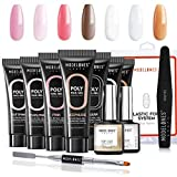 Modelones Poly Nail Gel Kit - Nail Extension Gel...