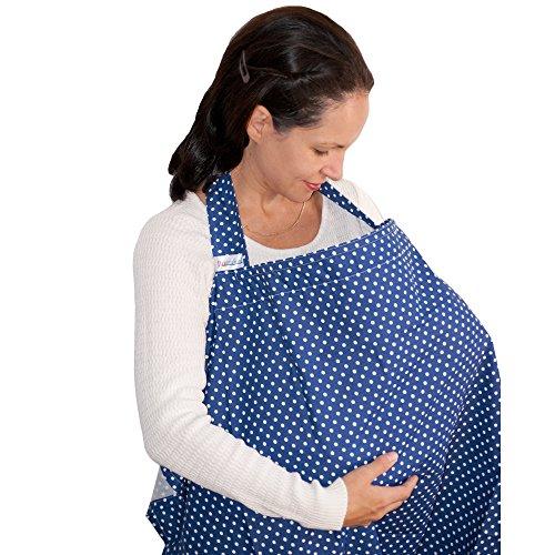 Dazoriginal Cubierta de Lactancia Capa Lactancia Cubre Pañuelo Lactancia AZUL