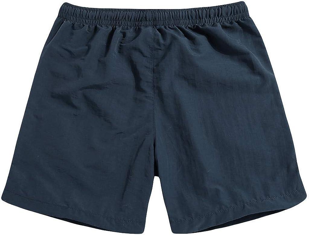 LEKODE Men Fitness Beach Pants Loose Swim Trunks Shorts