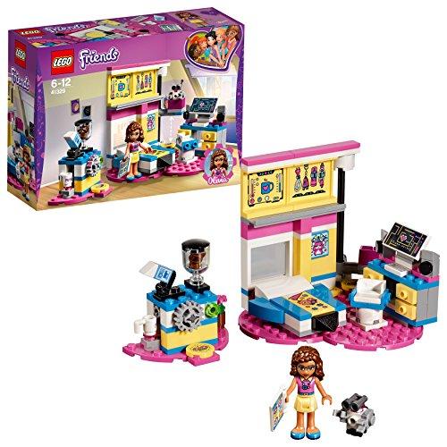 LEGO Friends 41329 - Olivias Großes Zimmer, Unterhaltungsspielzeug
