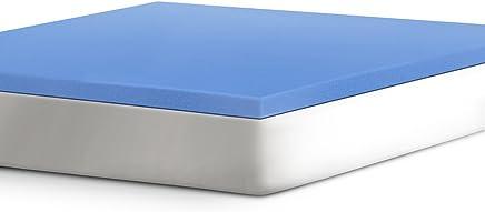 Serta 2 Support Gel-Infused Memory Foam Mattress Topper,  Twin XL
