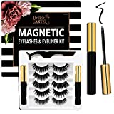 The Belle Cartel Magnetic Eyelashes and Eyeliner Kit, Magnetic Lashes and Liner Set