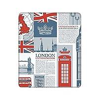 ロンドンイギリステーマランドマークとフラグ マウスパッド ゲーミングマウスパッド おしゃれ耐久性 滑り止め マウスパッド マウスパッド ゲーミング オフィス最適 30 * 25 * 0.3cm