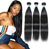Panse Peruvian Hair Straight 10A Grade 10 12 14 inches 100% Unprocessed Virgin Straight Human Hair 3 Bundles Weave Hair Human Bundle Extensions 1 B Color