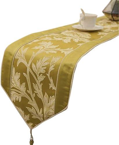 Unbekannt Xinye Map Table Flag Blended Mode Einfache Nordic Kaffee Bett Hochzeit Hotel Bankett 4 Farben 30 cm  180 cm MUMUJIN (Farbe   Yellow, Größe   180cm)