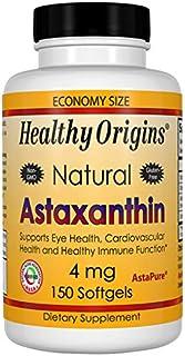 Healthy Origins Astaxanthin (AstaPure) 4 mg, 150 Softgels