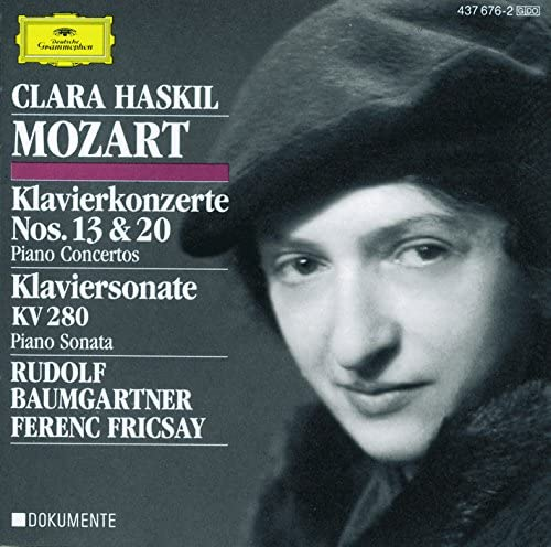 Clara Haskil, Festival Strings Lucerne, Rias Symphony Orchestra Berlin, Ferenc Fricsay & Rudolf Baumgartner