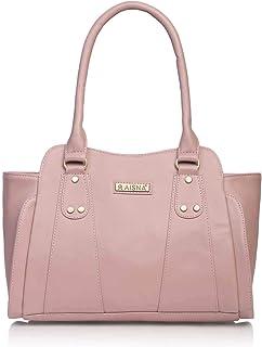 Aisna Women's Handbag(Pink,ASN-145)