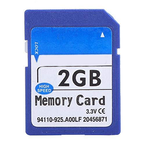 ASHATA Tarjeta de Memoria 1G / 2G / 8G / 16G / 32G / 64G, Tarjeta de Memoria Universal de Alta Velocidad para MP3, MP4, cámara, SLR, para PSP, Altavoz de Tarjeta de Enchufe, Altavoz, etc.(2GB)