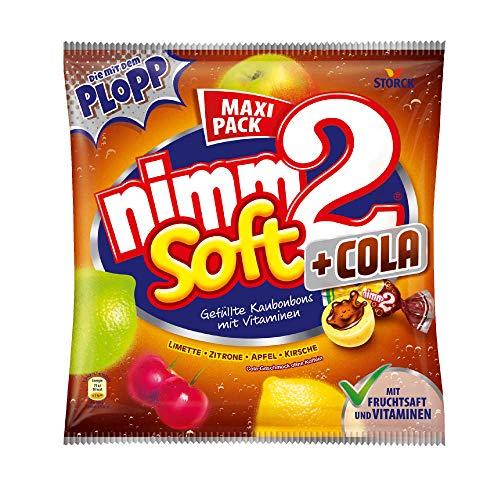 nimm2 soft Cola (1 x 345g) / Kaubonbons mit Fruchtsaft und Vitaminen