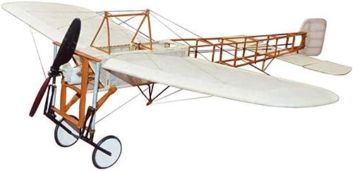 barato y de moda VIDOO Bleriot XI 420Mm Wingspan Madera RC RC RC Avión Avión Fijo Wing Kit Kit + Power Combo-Kit  estar en gran demanda