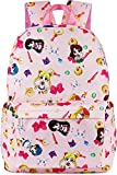 Roffatide Anime Sailor Moon Backpack Tsukino Usagi Luna Artemis All Over Print Girls School Bag Chibi Moon Laptop Backpack