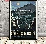 Poster The Shining Overlook Hotel Horrorfilm Charakter