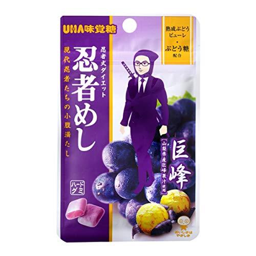 味覚糖 忍者めし 巨峰味 240袋入(10×24)