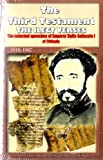 The Third Testament: The selected speeches of emperor haile sellassie i of ethiopia