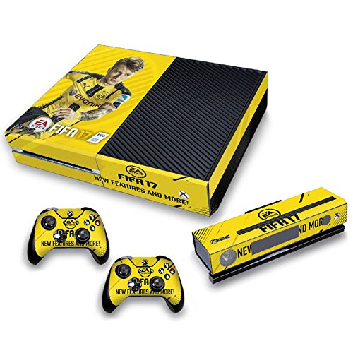 AGSP FIFA 17 Xbox One Skin Decal Sticker 2 Controller + Kinect Set - Xbox One Vinyl