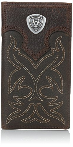 Ariat Ariat Shield Boot Stitch Rodeo Wallet Wallet Brown One Size