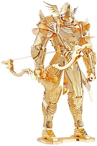 Piececool 3D Metal Model Kits Knight of Firmament DIY 3D Metal Puzzle for Adults Great Birthday product image